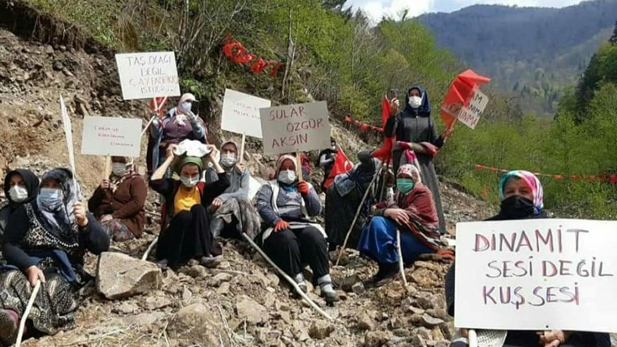 İkizdere köylülerine doğayı savunma cezası