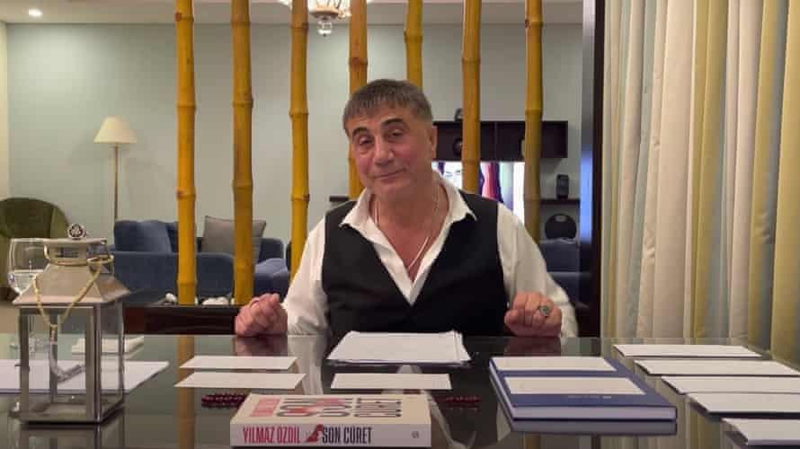 İngiliz The Guardian: Sedat Peker'in videoları Erdoğan'ı hedefliyor