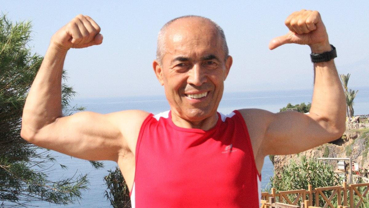 72 yaşındaki demir adam: 'Maraton nerede Ali Bıdı orada'