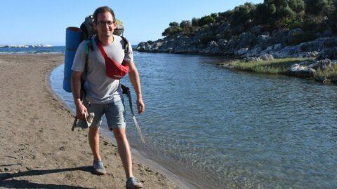 Sekizinci kez Antalya'ya geldi, bu defa 40 günde dağları keşfedecek