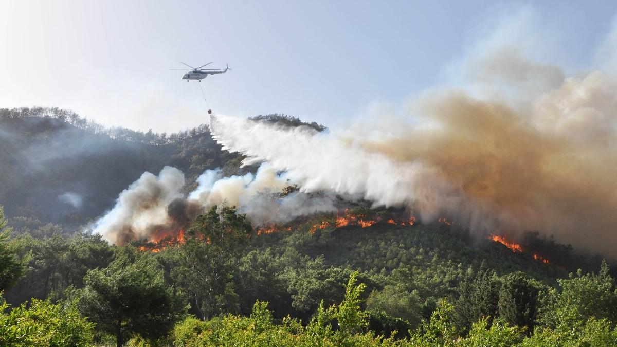 Antalya'da yangın sezonu açıldı