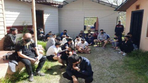 33 Tayvanlıyı dolandırıp Antalya'ya getirdiler