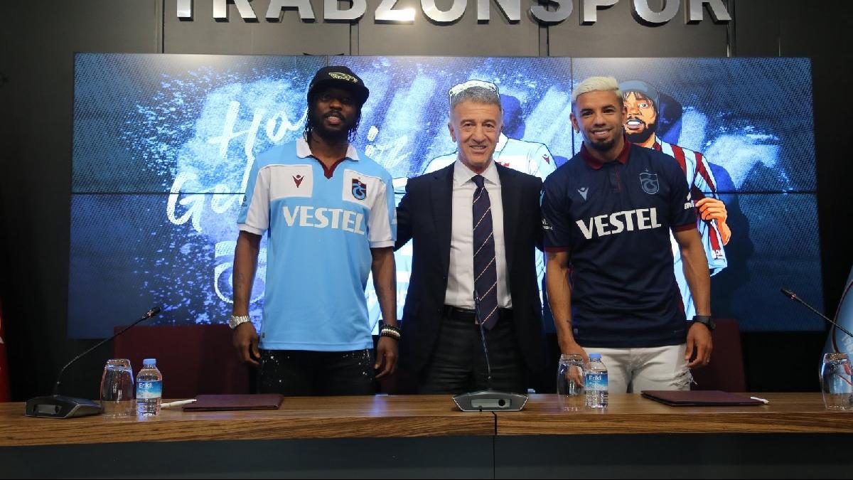 Trabzonspor, Gervinho ve Bruno Peres'le imzaladı! Yıllık maaşları...