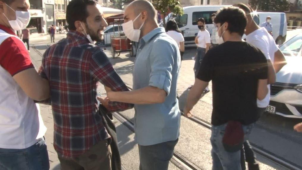 Filistinli turistin cep telefonunu çalan Tunuslu yakalandı