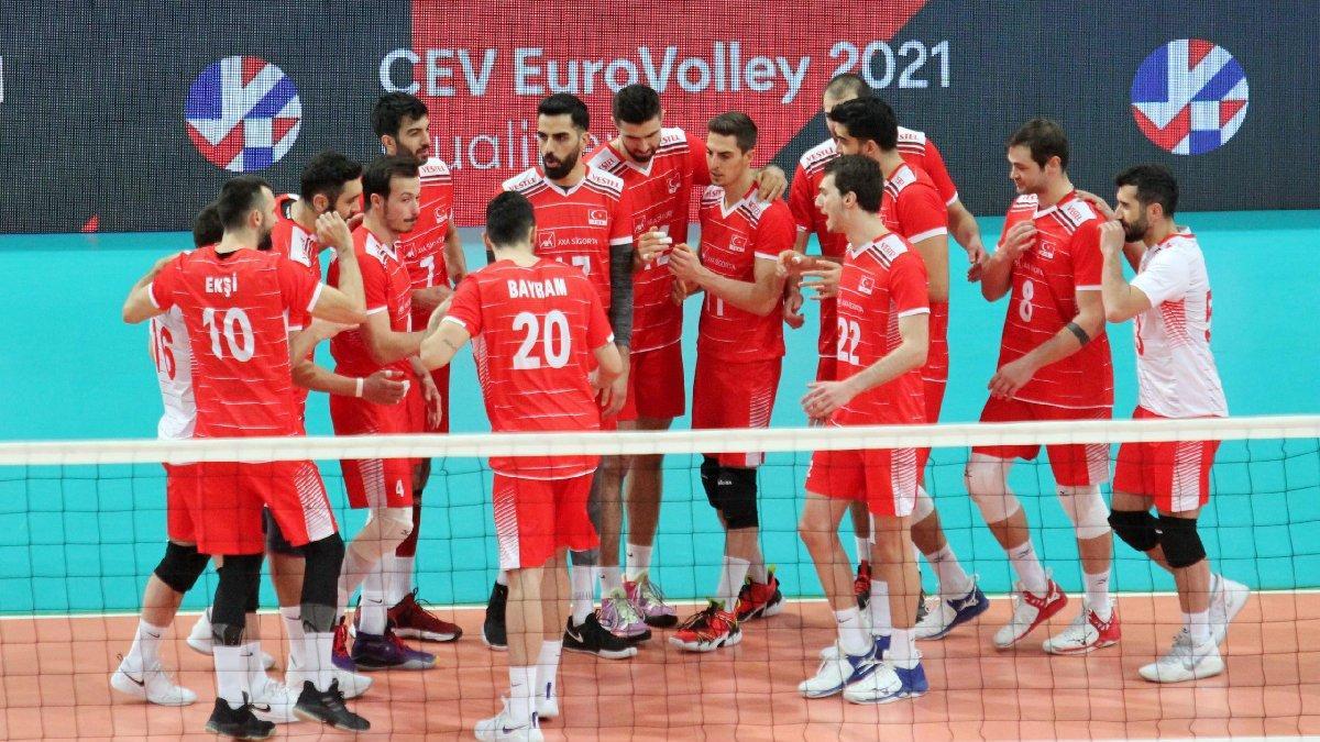 A Milli Erkek Voleybol Takımı'nın Avrupa Şampiyonası'ndaki rakipler belli oldu