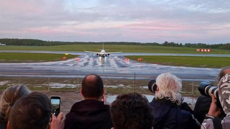 Uçak krizi sonrası Belarus havayolu Belavia uçuşları askıya aldı