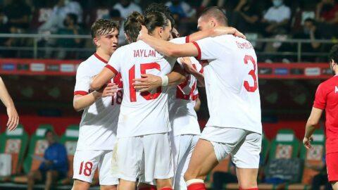Türkiye, EURO 2020 öncesi ilk provayı başarılı geçti