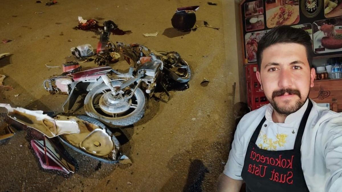 Elektrikli bisiklet sürücüsü kazada hayatını kaybetti