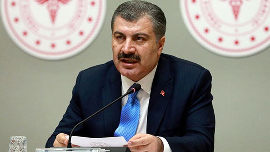 Sağlık Bakanı Fahrettin Koca: Kolları sıvıyoruz