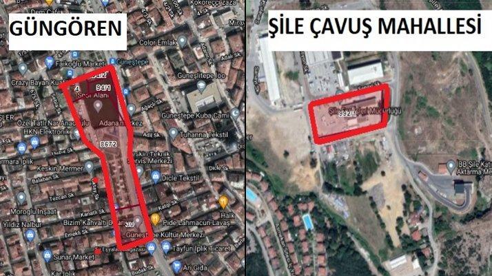 Şile ve Güngören'deki İBB mülkleri, AKP'li ilçe belediyelerine devredildi