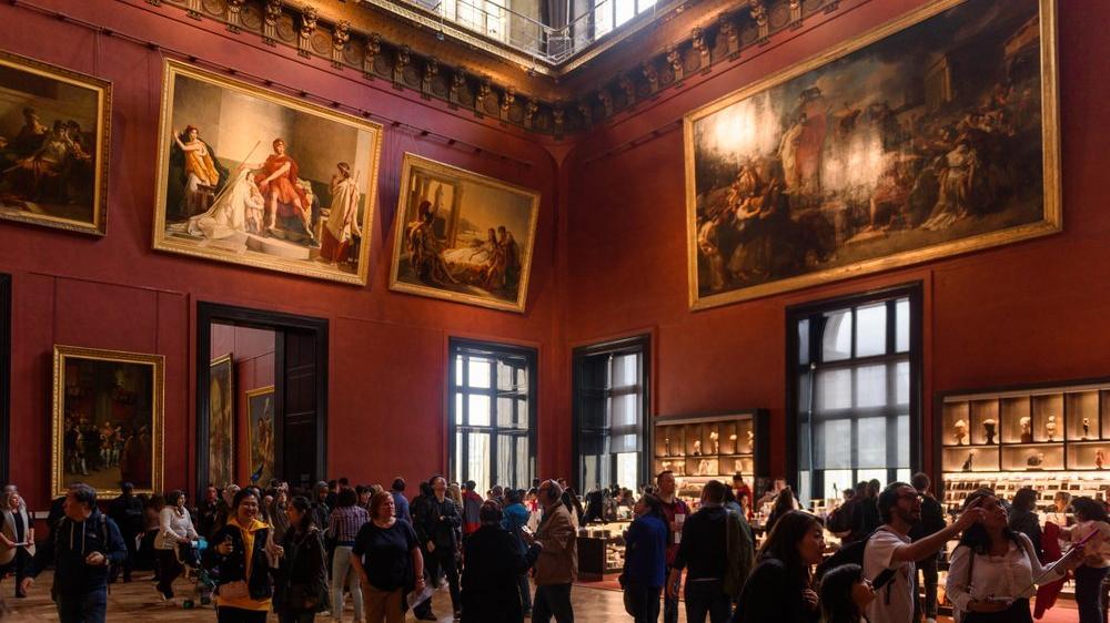 Louvre Müzesi tarihinde bir ilk