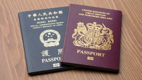 34.000'den fazla Hong Konglu, İngiltere'ye gitmek için vizeye başvurdu