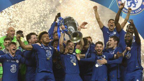 Manchester City'yi yıkan Chelsea, Şampiyonlar Ligi şampiyonu: 0-1