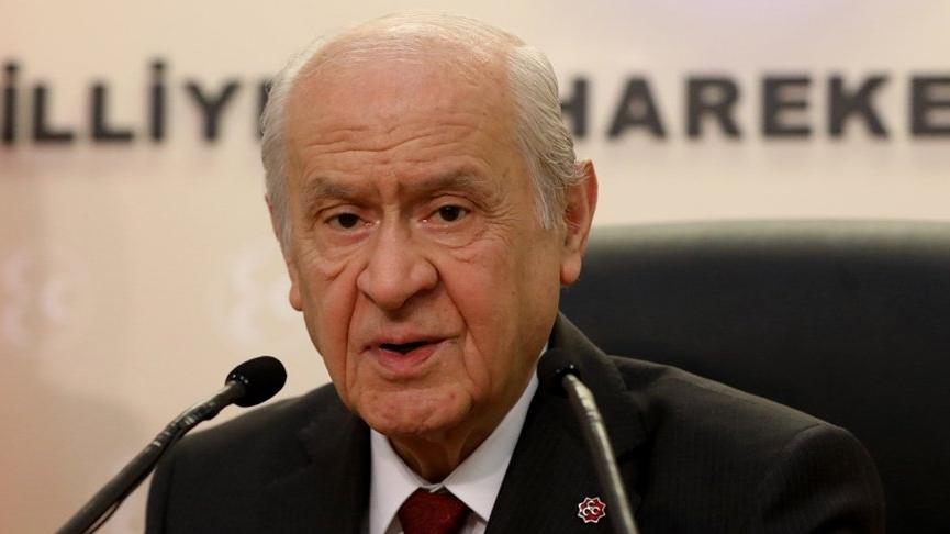 Devlet Bahçeli duyurdu: MHP projeden vazgeçti
