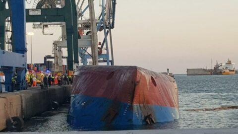 İspanya'da Türk gemisi battı! Kayıplar var