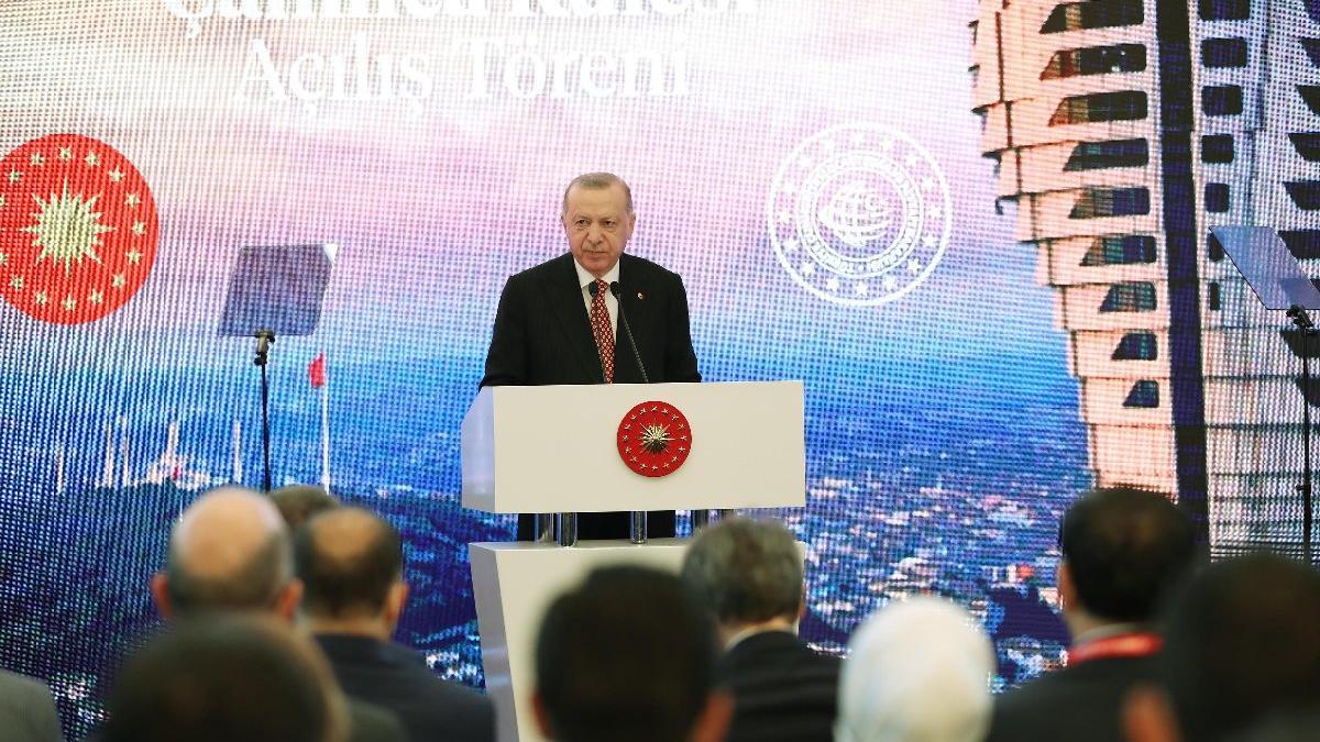 Cumhurbaşkanı Erdoğan 'Kanal İstanbul' projesi için yine tarih verdi