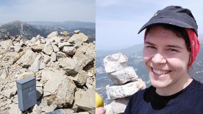 Ölü bulunan dağcının zirvede çektiği son fotoğrafı ortaya çıktı