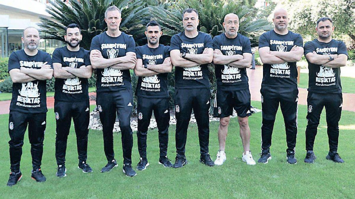 Beşiktaş'ın şampiyon emekçileri