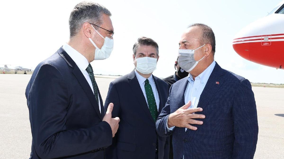 Çavuşoğlu, Yunanistan'a gitti