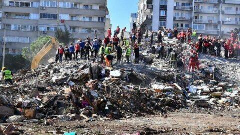 6.9 büyüklüğündeki deprem sonrası Ege Denizi'nde araştırma