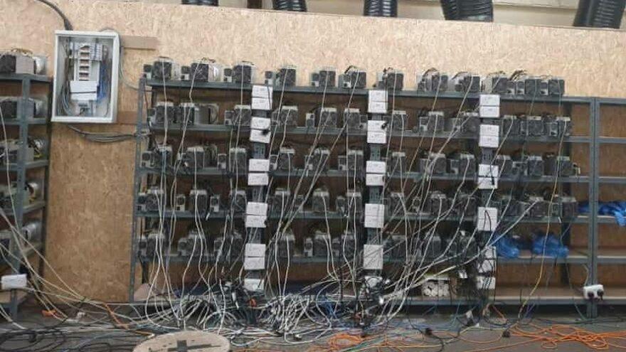 Kenevir baskınına giden polis bitcoin madeni buldu