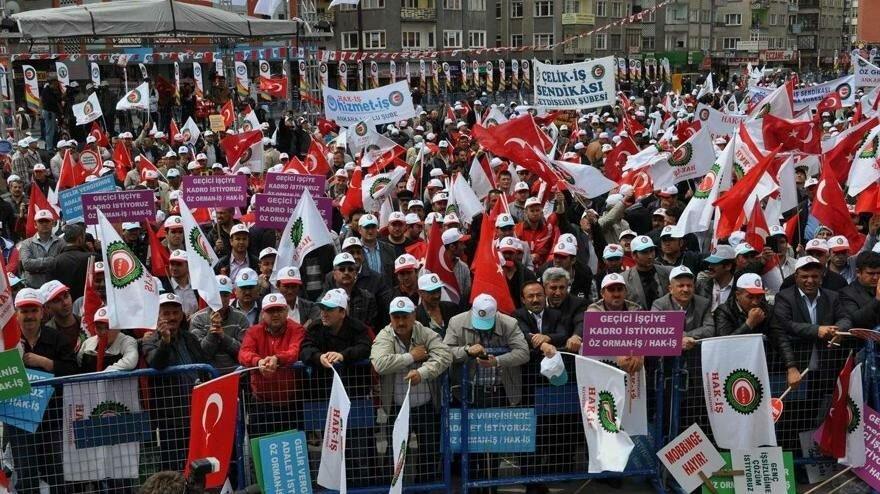 Türk-İş ve Hak-İş'ten 700 bin kamu işçisi için 4800 TL'lik taban ücret talebi