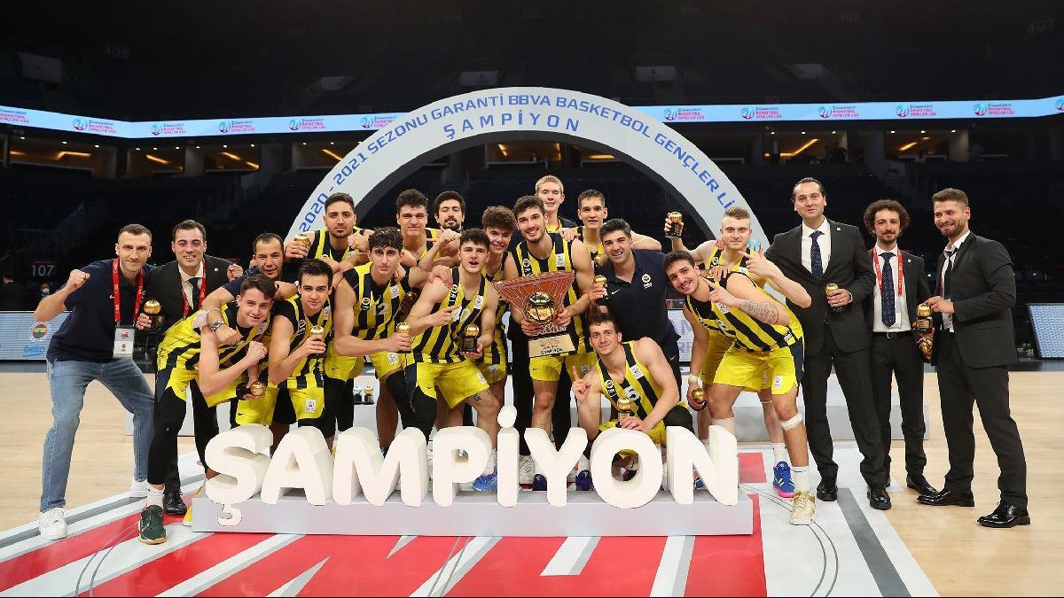 Gençler Ligi'nde mucize final! Fenerbahçe Beko son saniyede...