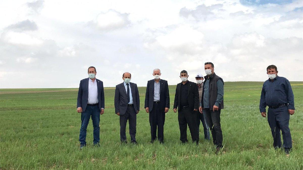 İYİ Partili Kabukcuoğlu: Çiftçiye bir darbe de kuraklıktan
