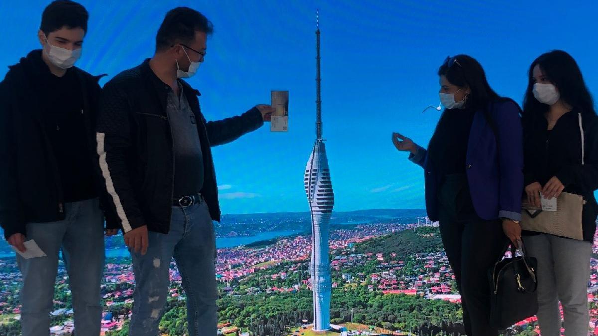 İstanbul'u Çamlıca'dan izlemenin bedeli 60 TL