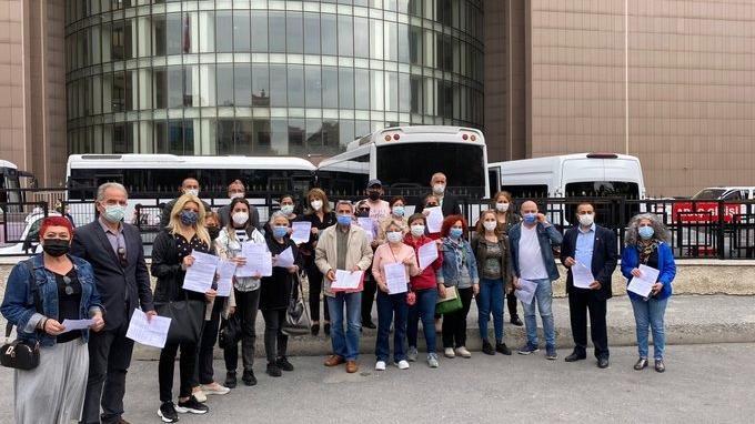 İstanbul'da CHP'nin 39 ilçe başkanı Atatürk'e lanet okuyan imama suç duyurusunda bulundu