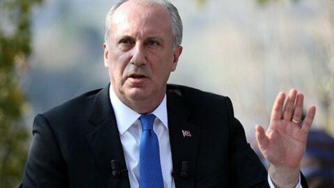 Muharrem İnce'den dikkat çeken Sedat Peker açıklaması