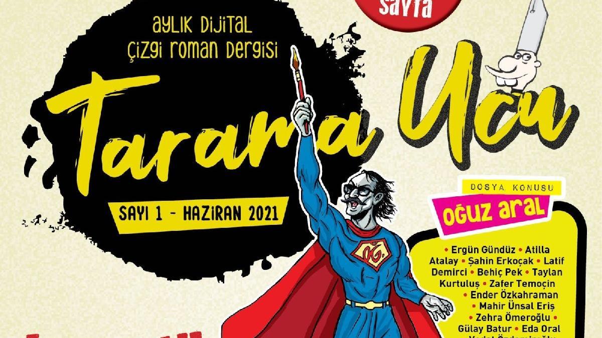 Usta çizerler Tarama Ucu'nda buluştu: 'Dergim var dünyadan büyük'