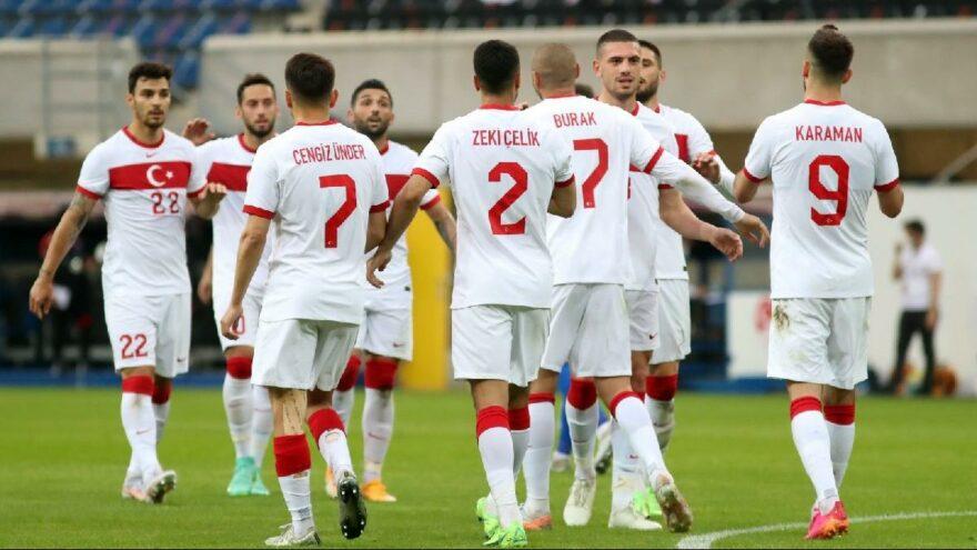 EURO 2020 öncesi A Milliler perdeyi zaferle kapattı! Moldova'yı 2-0'la geçtik…