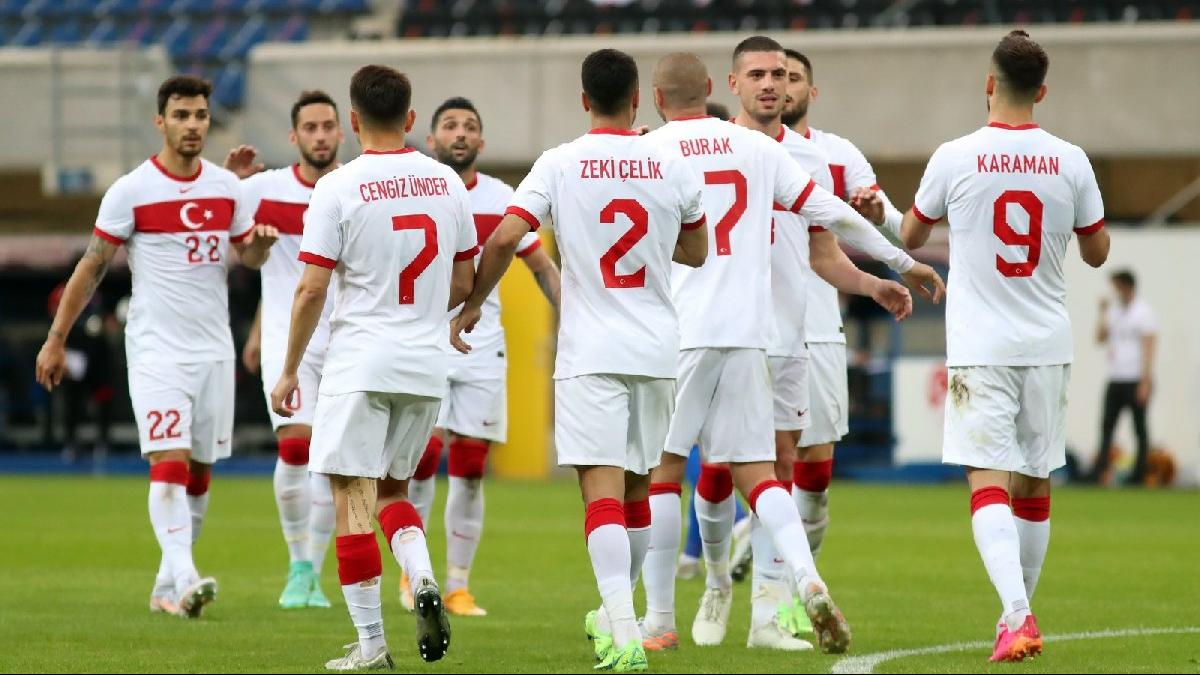 EURO 2020 öncesi A Milliler perdeyi zaferle kapattı! Moldova'yı 2-0'la geçtik...