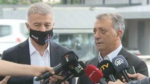 Ahmet Nur Çebi ve Ahmet Ağaoğlu'ndan açıklama: 3 sene önce galibiyet primi 600 bin Euro'ydu
