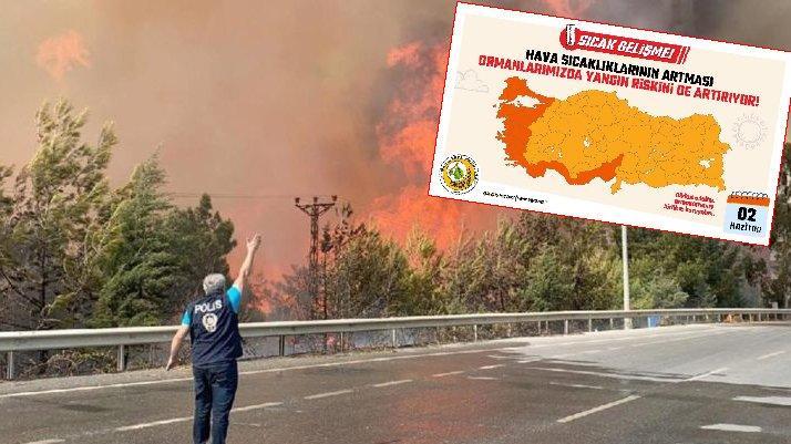 Akdeniz ve Ege 'sıcak gelişme' uyarısı: İşte risk haritası…