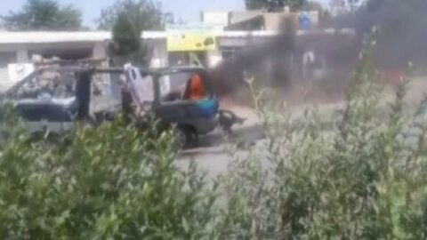 Kabil'de minibüse bombalı saldırı: 4 ölü
