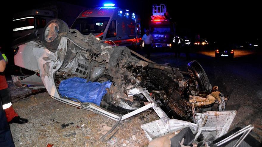 Muğla'da feci kaza: Bir ölü, 4 yaralı