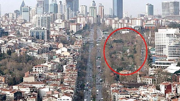 Beşiktaş'taki eski askeri alana kat artışı: 5'den 8'e çıkarıldı