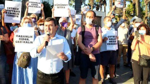 'Çetesiz Mafyasız Aydınlık Türkiye' eylemi düzenlendi: Kirli ilişkiler açığa çıkarılmalı, failleri hesap vermeli