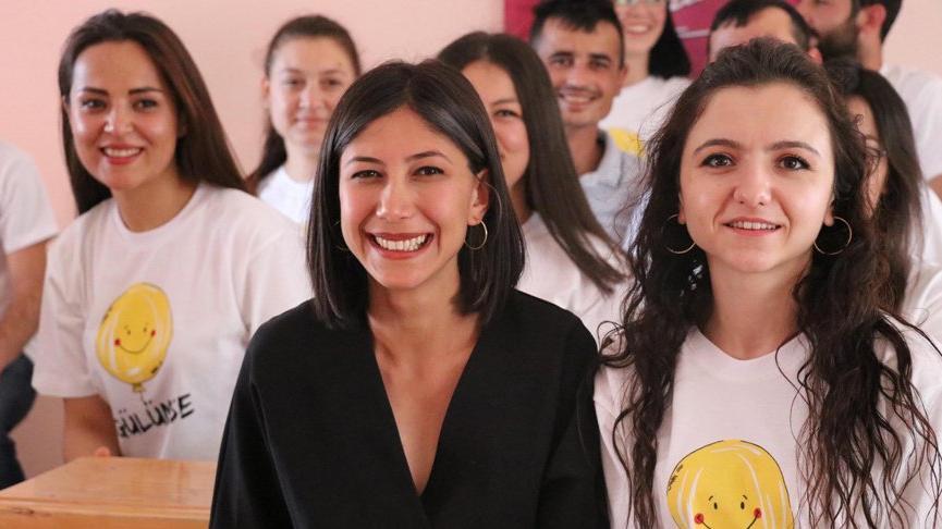 Üniversiteli Gamze, atıl haldeki köy okulunu kurs merkezine dönüştürdü