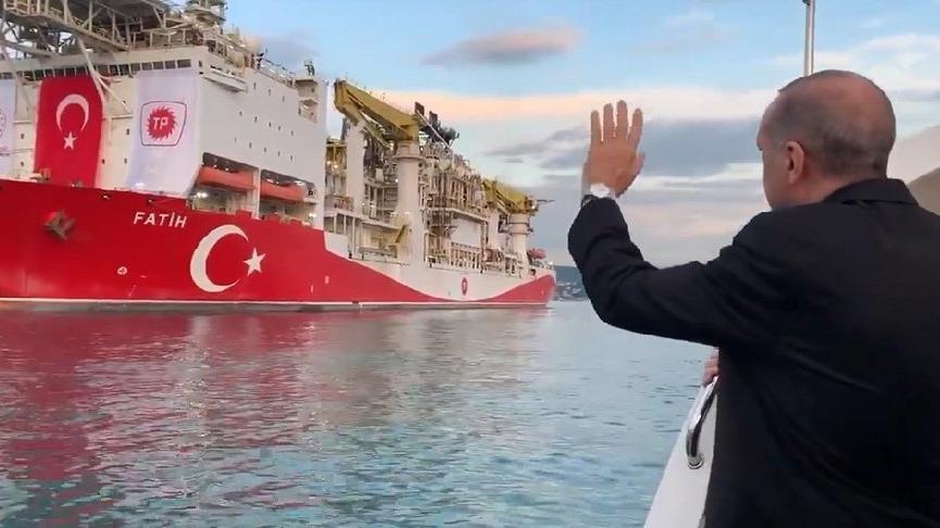 Erdoğan yine 'gaz müjdesi' verdi