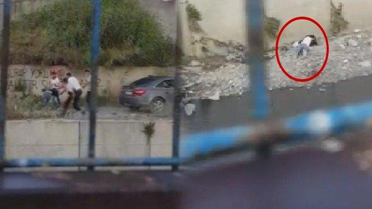 Suriyeli Selmo'yu dövüp dereye atanların cezası açıklandı