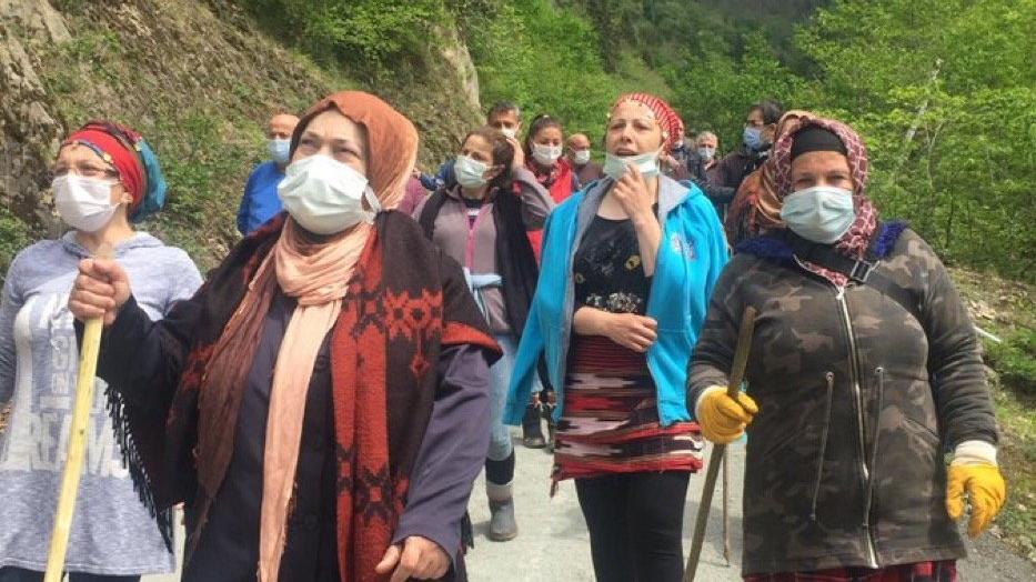 İşkencedere halkından çevre günü mesajı: Dağları verelim de yerine ne koyalım?