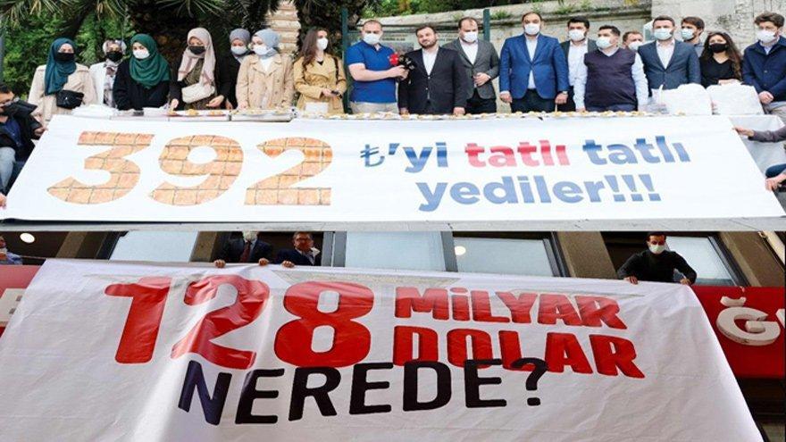 CHP 128 milyar doların AKP 392 liranın peşinde