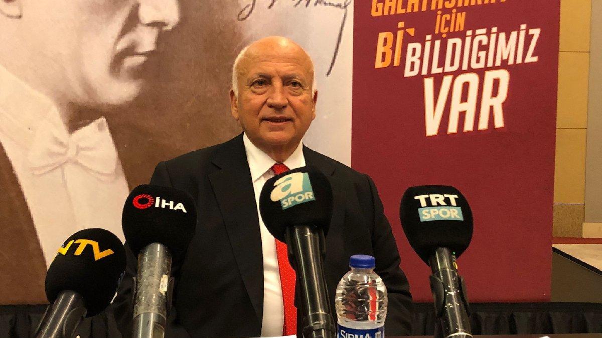 Galatasaray'da Işın Çelebi adaylıktan çekildiğini açıkladı