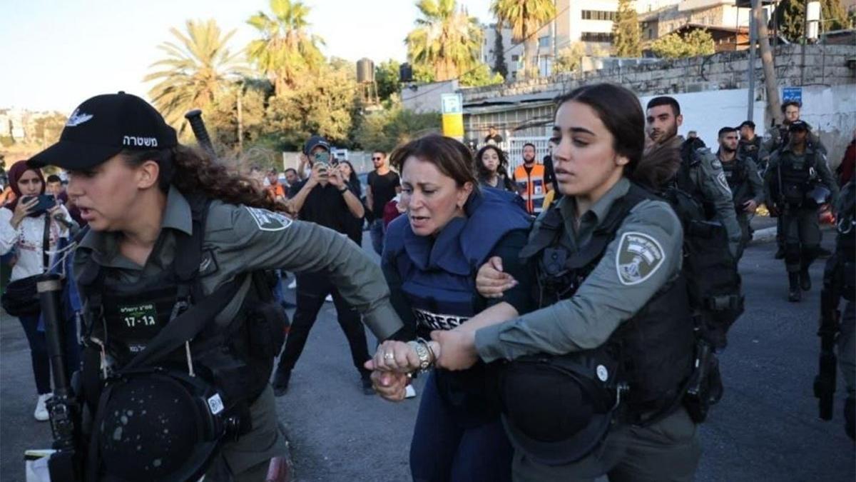 İsrail güçlerinden muhabire darp ve gözaltı