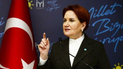 Meral Akşener'den Sedat Peker'in iddiaları hakkında açıklama