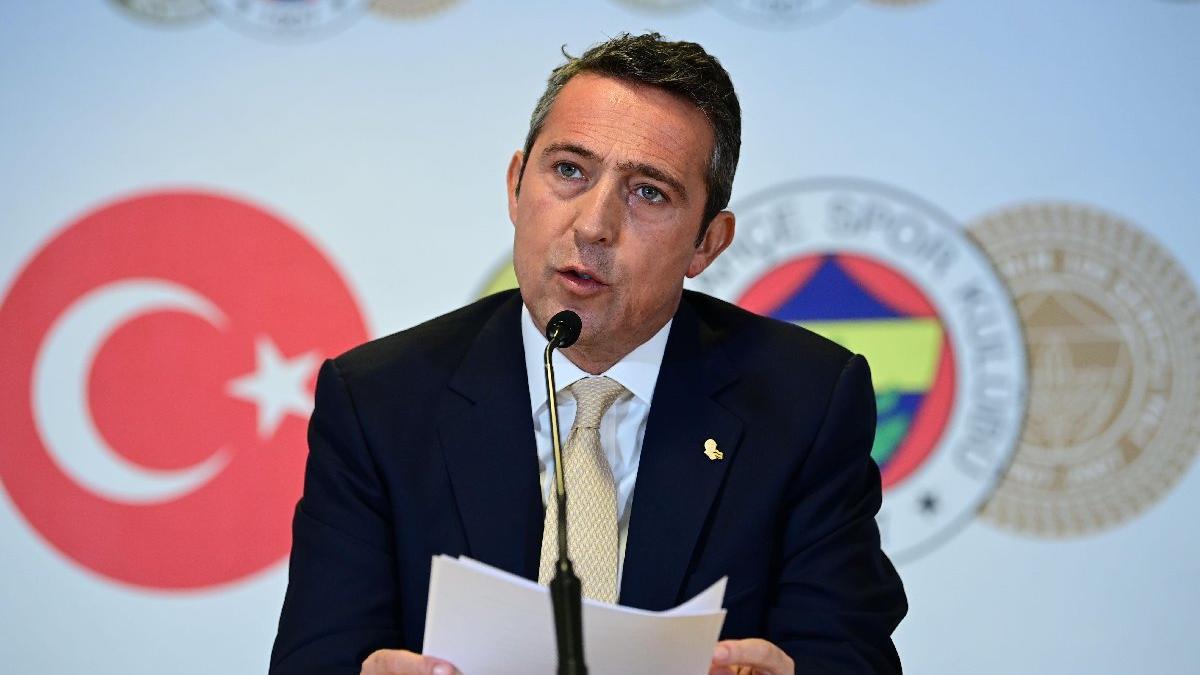 Ali Koç'un sportif direktör konusundaki tavrı net: Sahaya karışmamalı