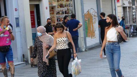 İstiklal Caddesi pandemi öncesi günlerine döndü